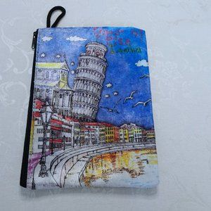 Tower of Pisa Italia Pencil Pouch